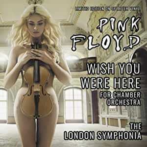 PINK FLOYD'S WISH YOU WERE HERE FOR CHAMBER ORCHESTRA: LIMITED EDITION ON BLACK AND WHITE SPLATTER VINYL by The Orchard Chamber Orchestra album cover