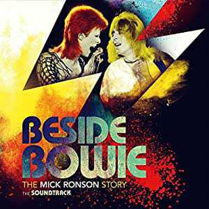 Beside Bowie: The Mick Ronson Story The Soundtrack by Various Artists album cover
