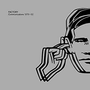 Factory Records: Communications 1978-92 by Various Artists album cover